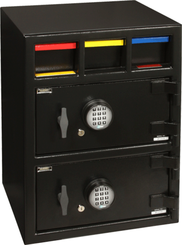 Texas Safe & Lock - Amsec Drop Double Door Deposit Safe