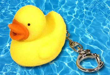 Rubber Ducky Key Chain - Texas Safe & Lock Dallas