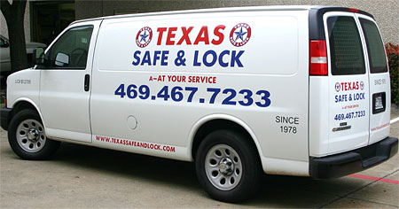 Locksmith Service Van